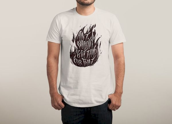 Typography: Fires Of Faith