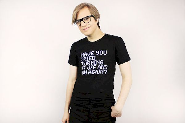 Typography: Computer Geek Shirt