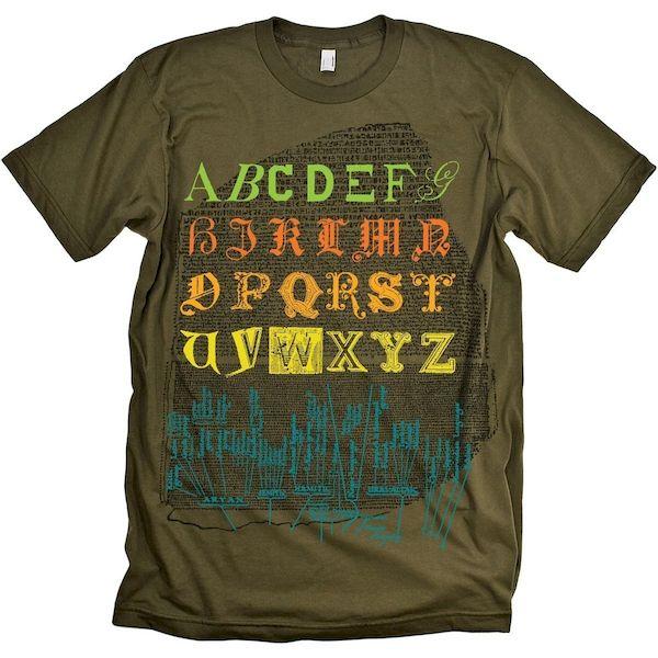 Typography: Typographic Alphabet
