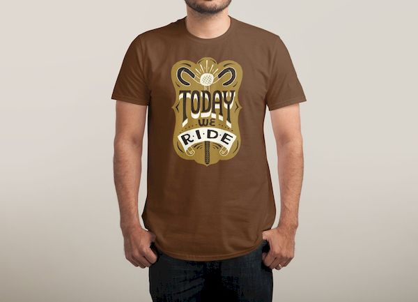 Typography: Today We Ride