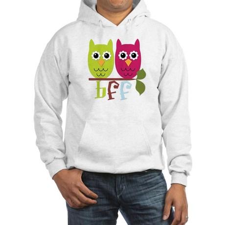"owls sharing branch: ""BFF"""