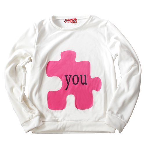 "puzzle piece with word ""you"" on it"