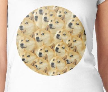 doge circle shirt