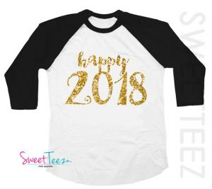 Sparkling happy 2017 toddler shirt