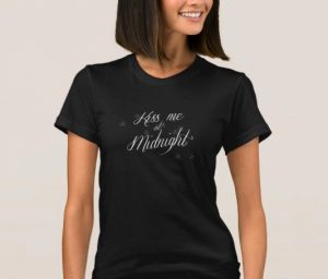 New Years Kiss Me At Midnight Shirt