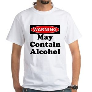 May Contain Alcohol New Years Party Shirt